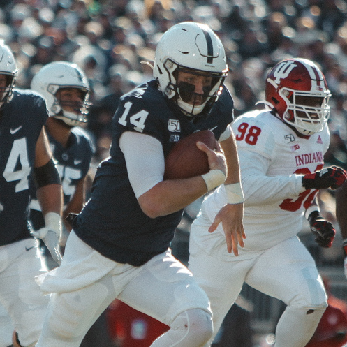 No. 9 Penn State Bounces Back in 34-27 Win over Indiana