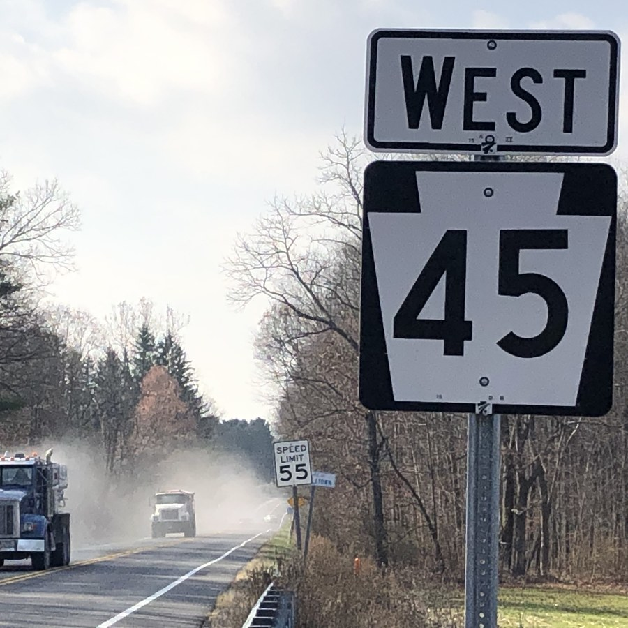 Harris Township Looking to Reduce Speed Limit on Route 45