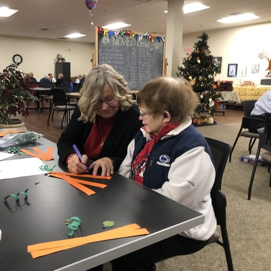 Active Adult Center Looks to Install Partition for More Multitasking