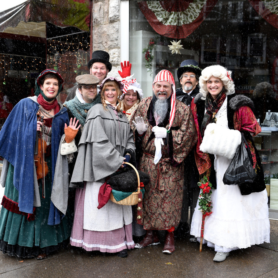 'Christmas Carol' Characters Come Alive at Bellefonte Victorian Christmas