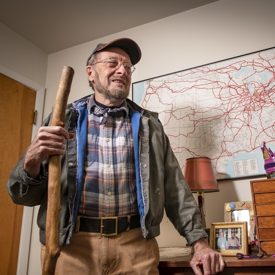 A Hobo's Song: Philipsburg's Luther Gette, 'King of the Hobos,' reflects on a life of hopping freight trains – with his PhD in French lit along for the ride