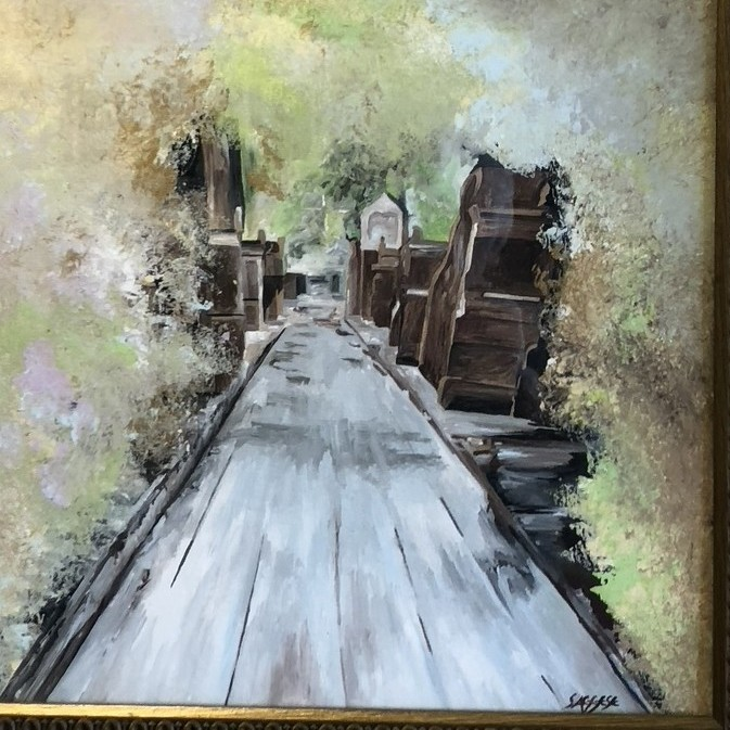 A Lifetime of Painting: Saggese Has a New Exhibit at The State Theatre