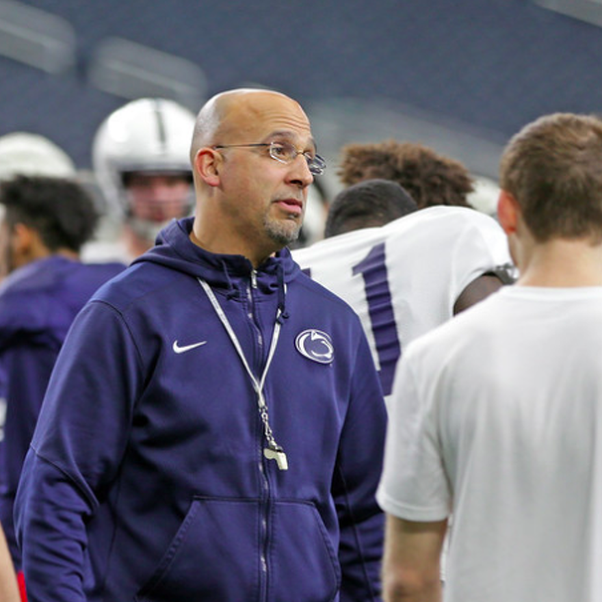 Penn State Football: Contract Not Yet Signed, Franklin Says No Cause For Concern, Just Red Tape