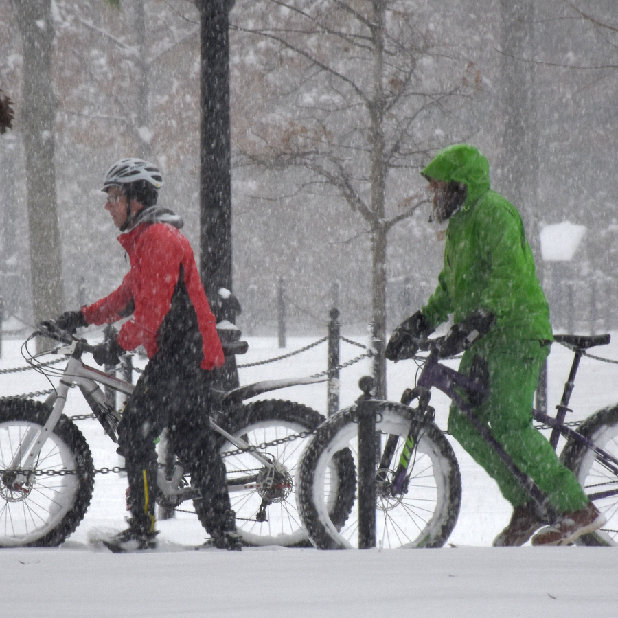 First Centre Region Winter Bike Anywhere Friday Encourages Riding