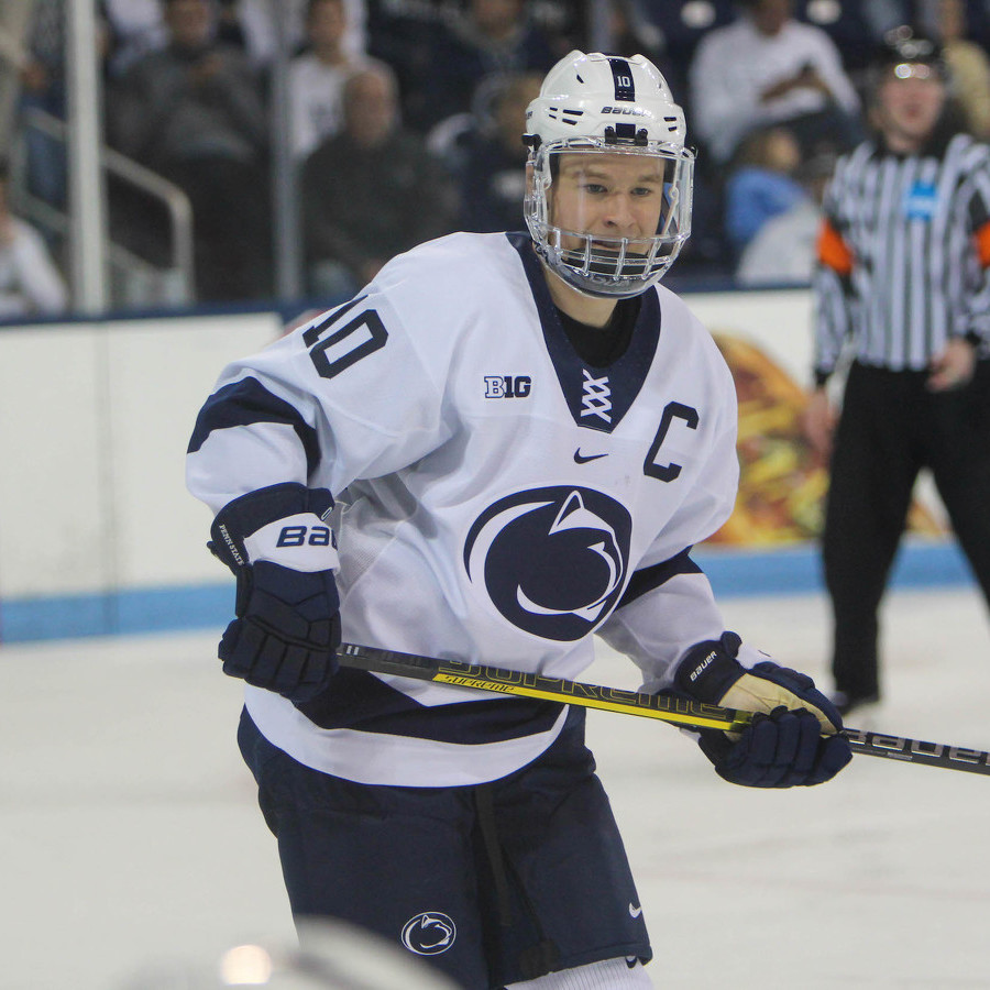 'The Guys Who Came in and Took the 'Eventually' Away:' Penn State Hockey Celebrates Landmark Senior Class