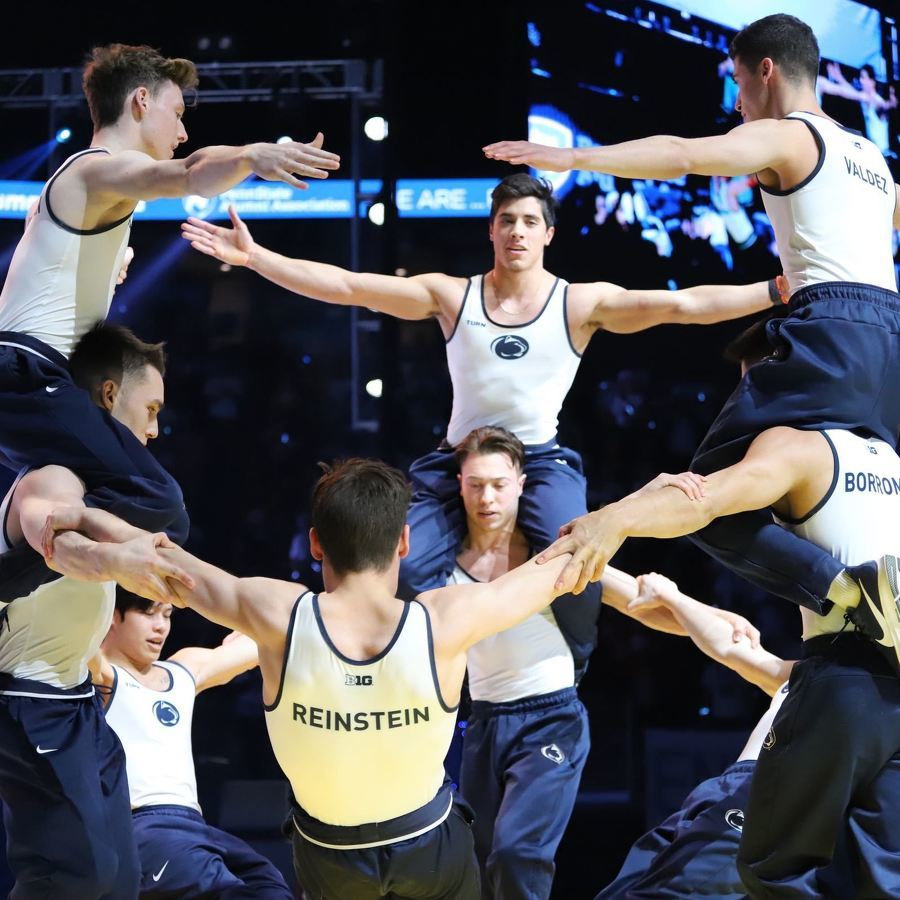 Watch: Penn State Men's Gymnastics Wins Again at THON 2020 Pep Rally