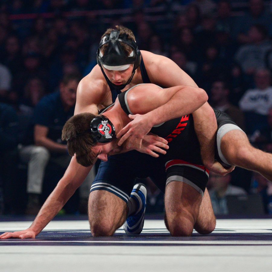 Penn State Wrestling's Brady Berge Out for Rest of Season