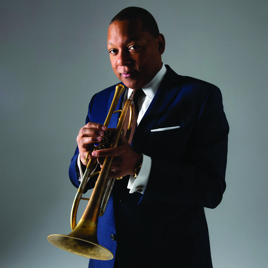 On Center: Wynton Marsalis and his Lincoln Center big band will play at Penn State April 2