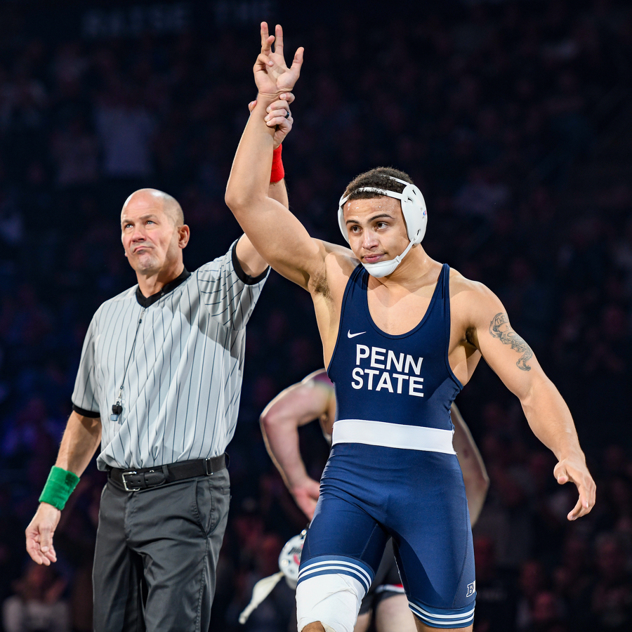 Heading into Big Ten Championships, Sanderson Unfazed with 'Underdog Status'