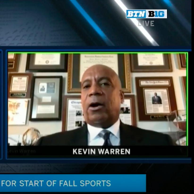 Big Ten Commissioner Kevin Warren Hints at Possibility of Playing Football Independent of Other Conferences