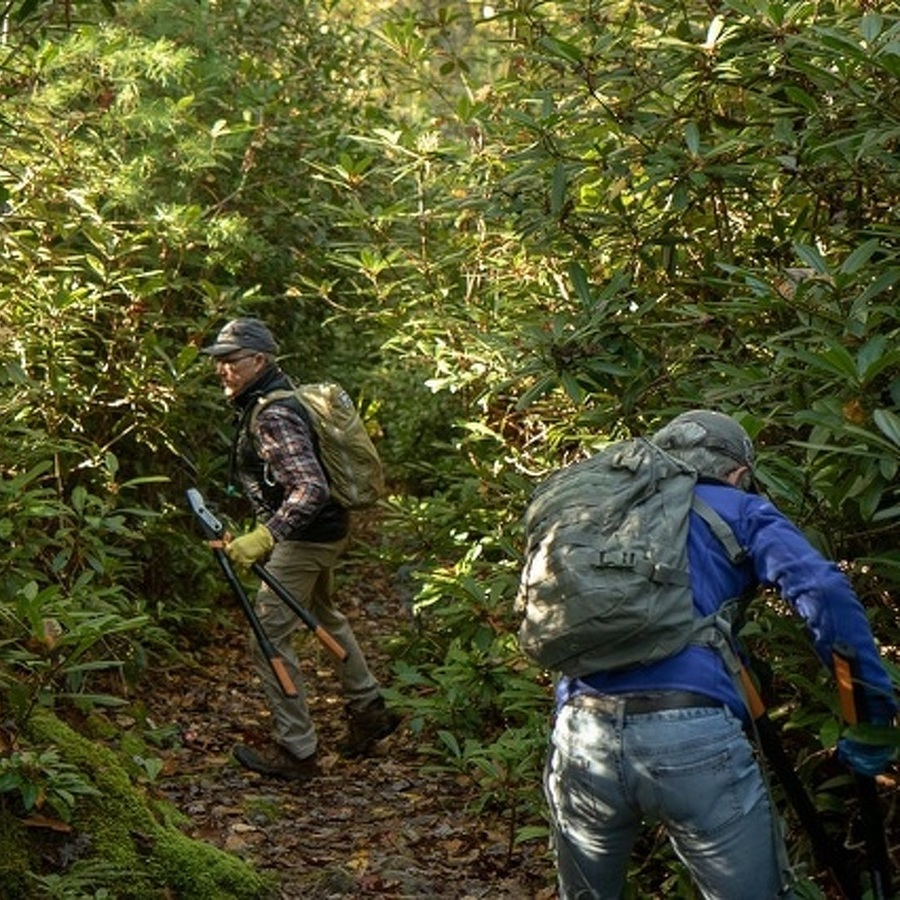 It Takes a Corps of Dedicated Volunteers to Help Maintain the Area's Popular Trails