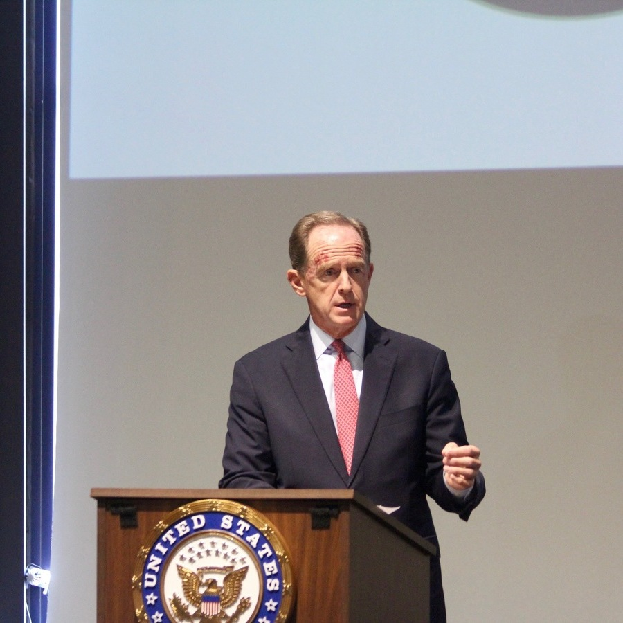 Toomey, Keller Discuss COVID-19 Relief, Economic Recovery During Visit to Centre County
