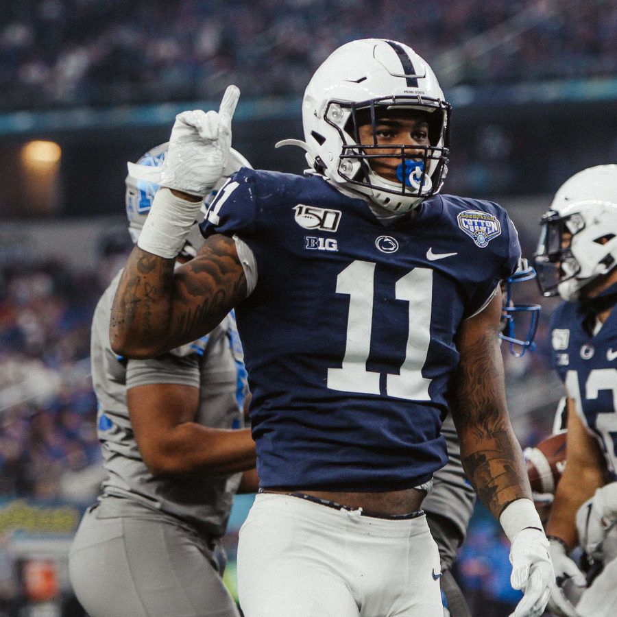 Penn State LB Micah Parsons Makes It Official: Will Opt Out of 2020 Season and Enter NFL Draft