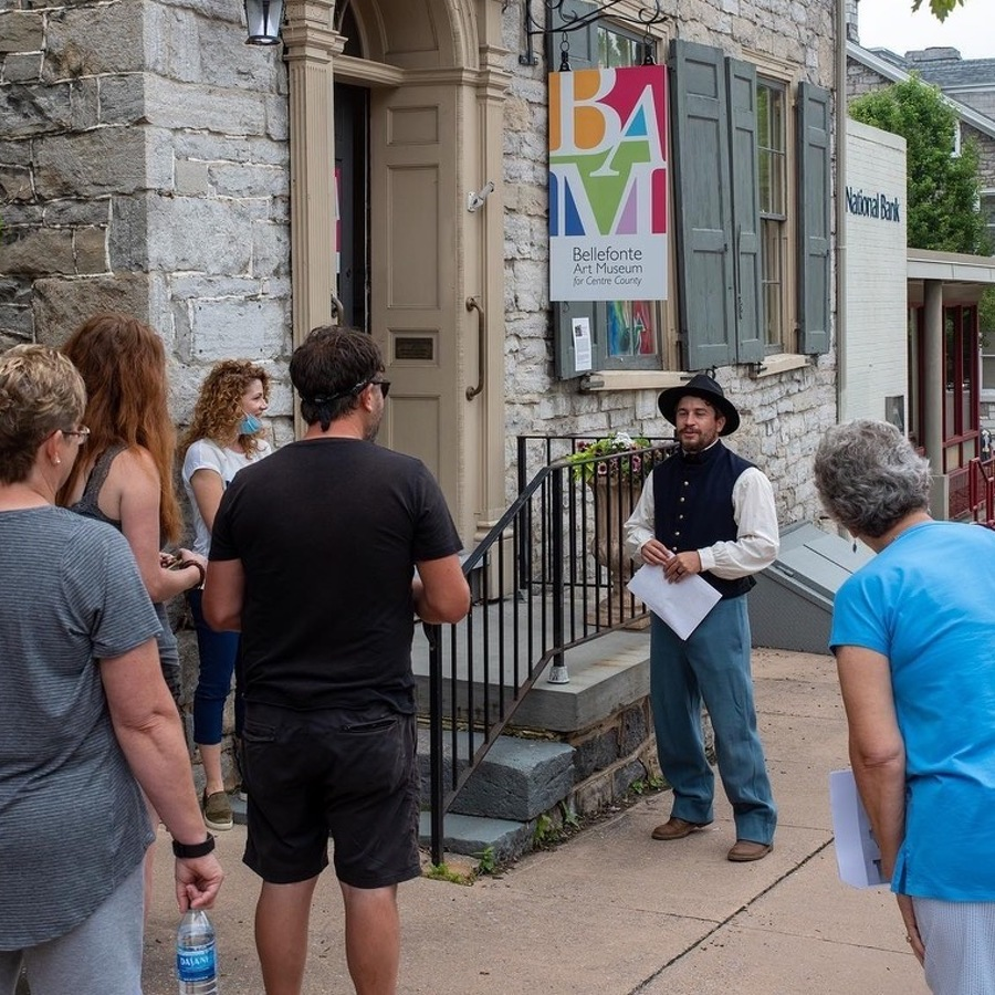 Local Guide and Consultant Offers Bellefonte History on Walking Tours