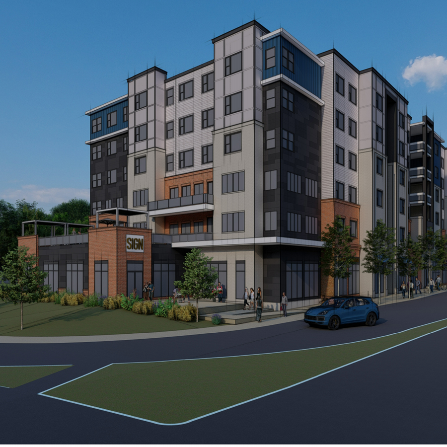 6-Story Student Housing Development Planned for West College Avenue