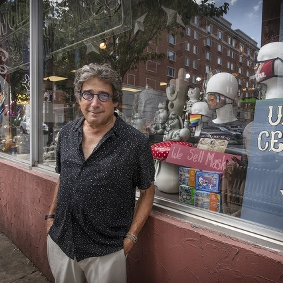 50 Years after Opening Uncle Eli's, Douglas Albert Is Sticking to 'Plan A' with His Emporium and His Gallery