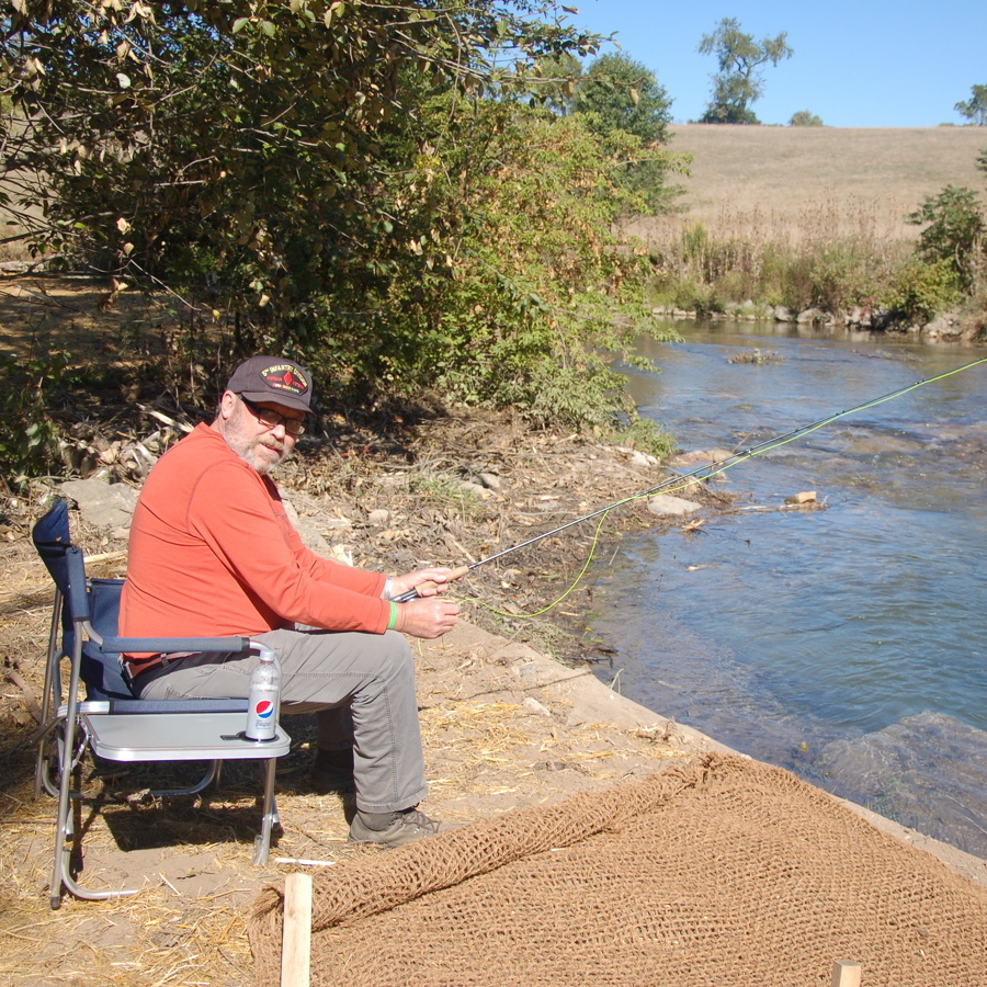 Spring Creek Project Opens Fishing Options for Disabled Veterans