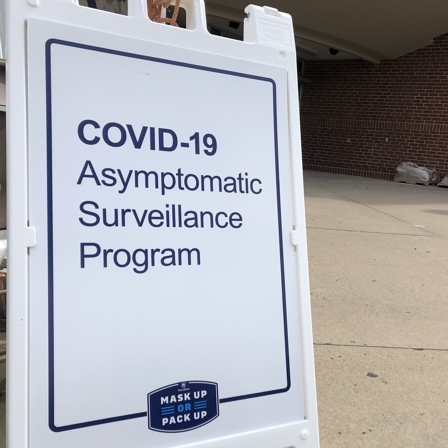 Penn State Reports 458 More COVID-19 Cases Among Students