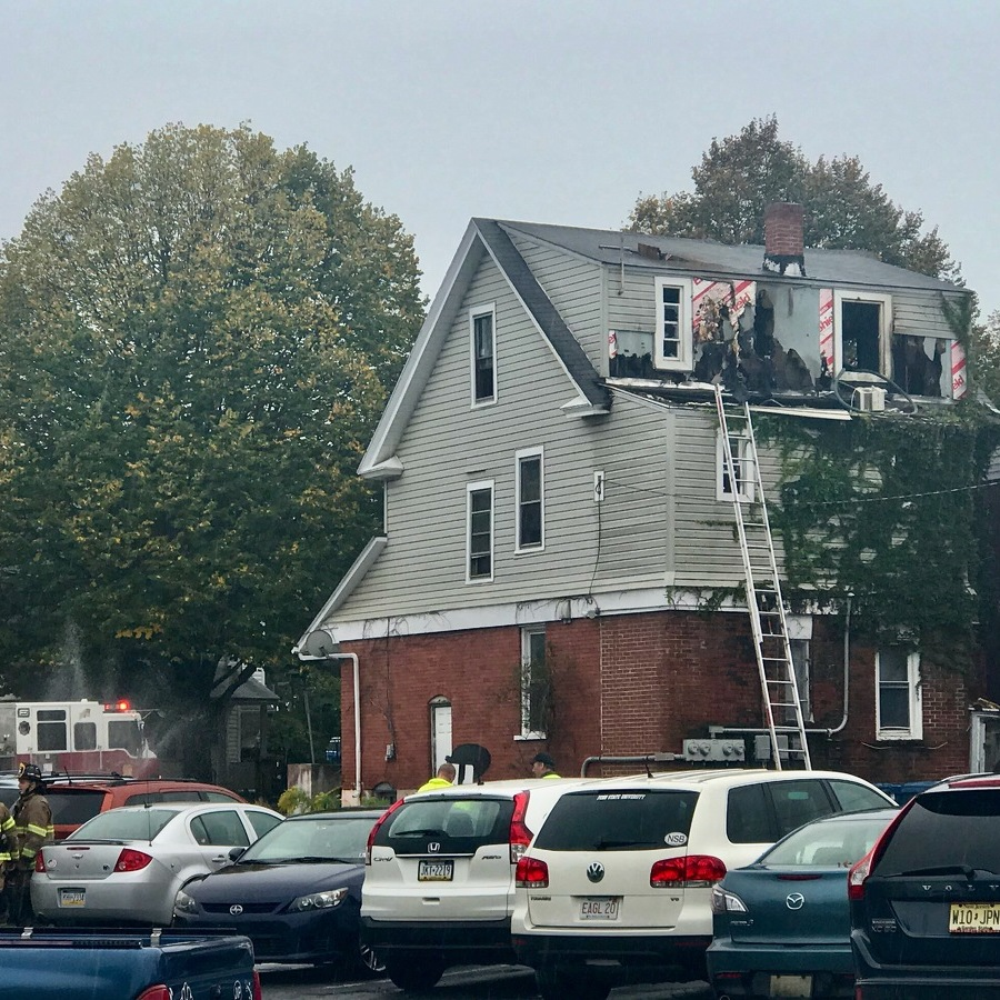Residents Displaced After State College House Fire