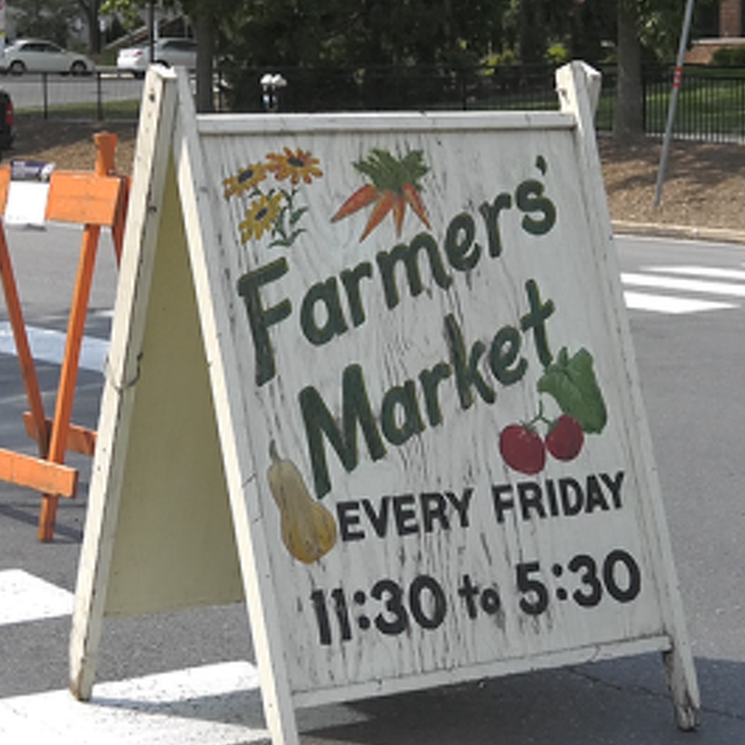 Downtown Farmers' Market Adjusts to Pandemic Impacts
