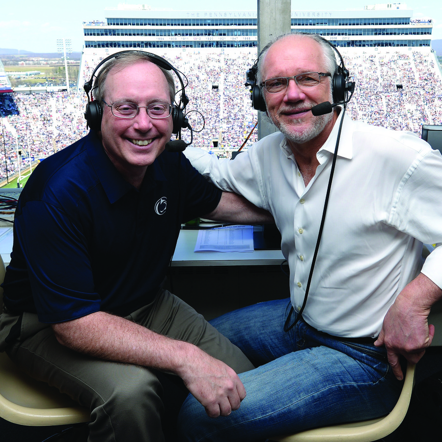 The Voices of Penn State Football: For 20 years, Steve Jones and Jack Ham have been bringing every play of every game to life on the radio