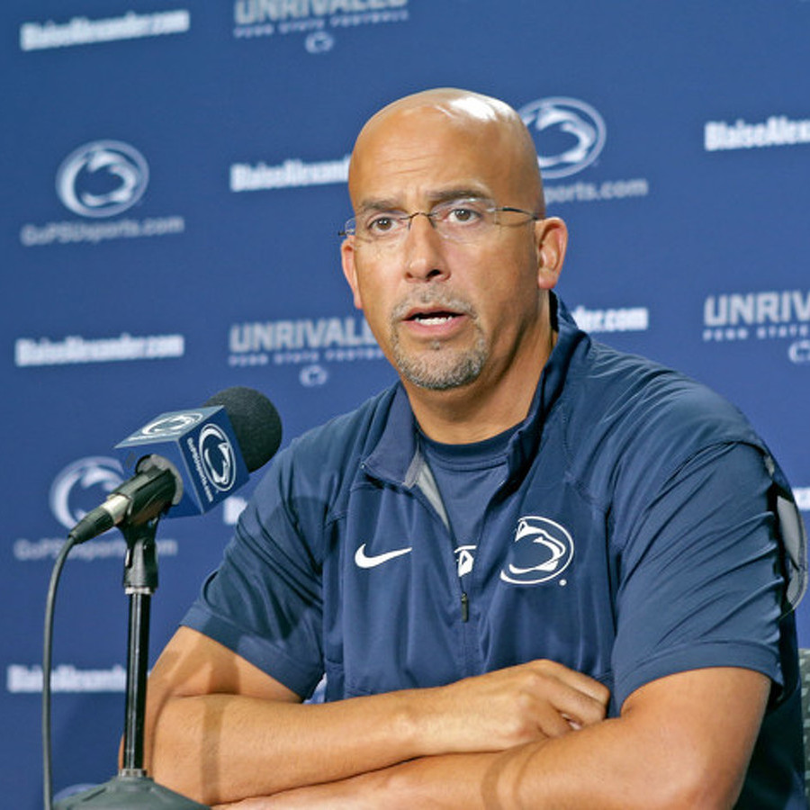 Report: Former Penn State Football Player Who Filed Lawsuit Claims Franklin Told Him Not to Report Fight to Police