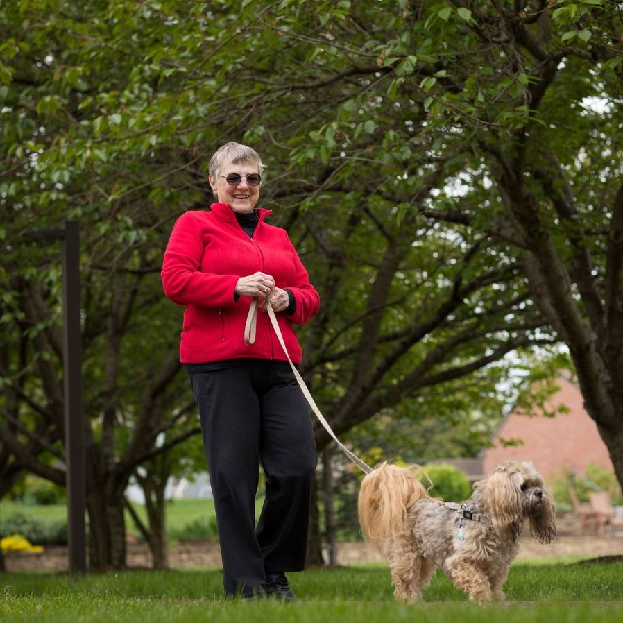 Pets Bring Health and Well-Being Benefits for Older Adults
