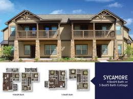 Sycamore 4 Bedroom/4 Bathroom or 5 Bedroom/5 Bathroom
