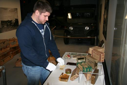 Military Museum Features New Exhibit: The Combat Ration