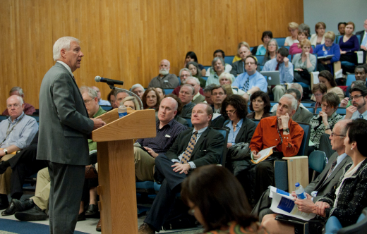 Faculty Senate Withdraws Motion to Throw Support Behind Erickson; Clery Act Report Due Back Soon