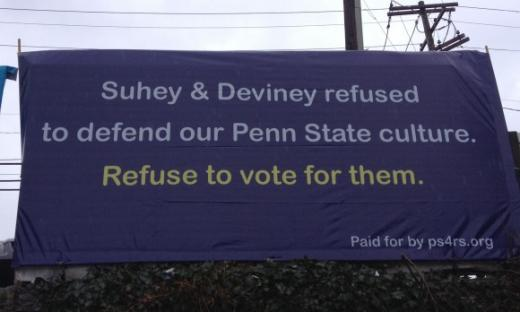 High-Profile Members of Penn State's Lettermen Club Disavow Paul Suhey
