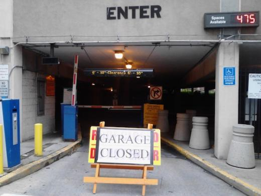 State College Pa Pugh Street Parking Garage Closed For Repairs