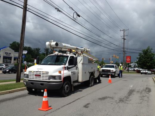Powerful Storm Causes Blackout, 2,000 Customers Without Power in State College