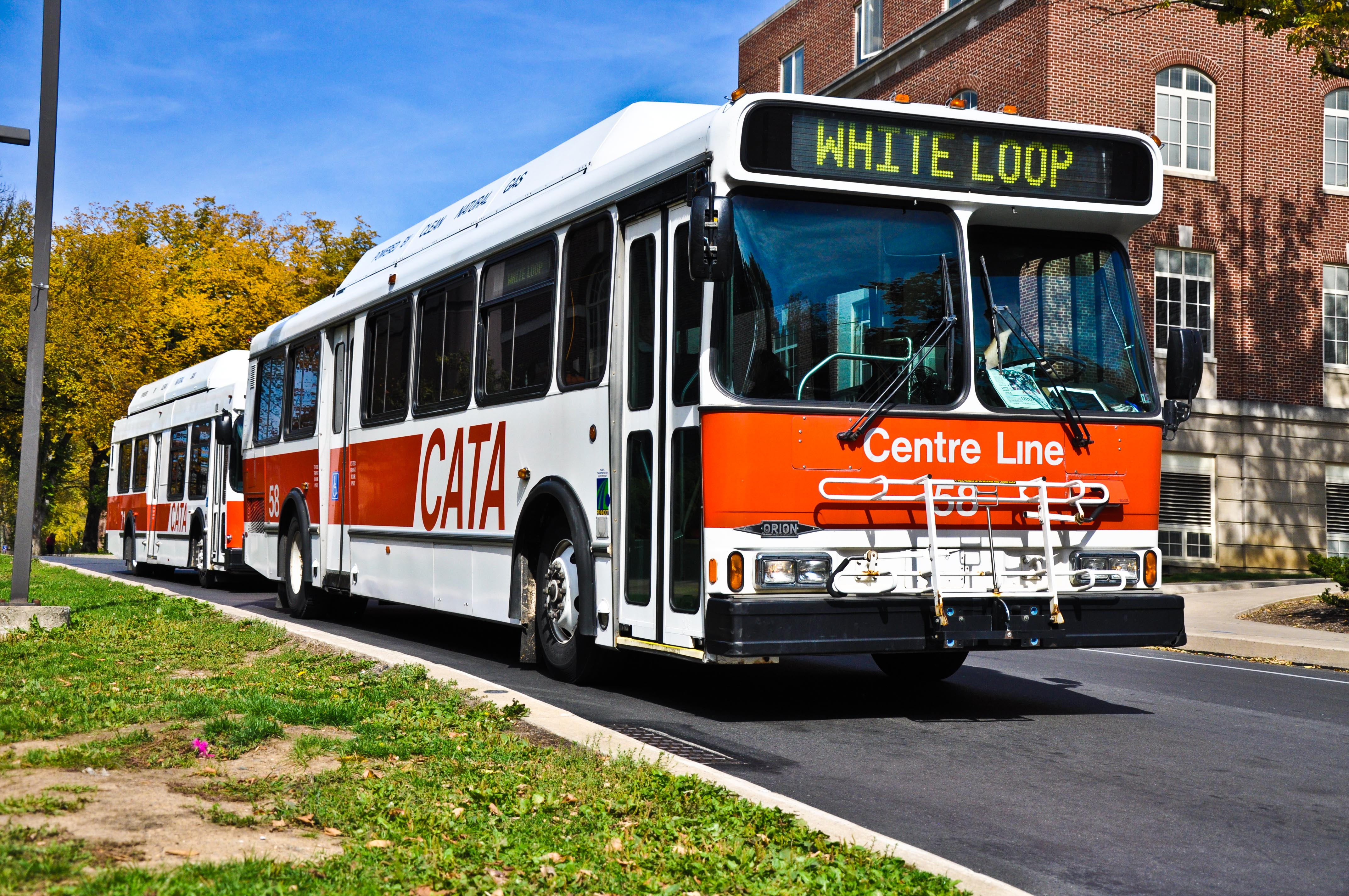 'Dump the Pump' and Ride CATA for Free