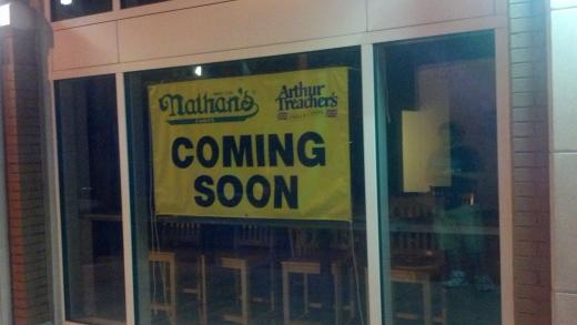 Nathan's Famous Hotdogs Moving in Downtown