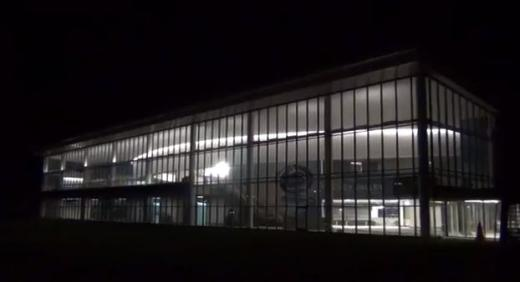 Penn State Hockey: Pegula Ice Arena Nearing Completion, Lighting Up August Night Sky
