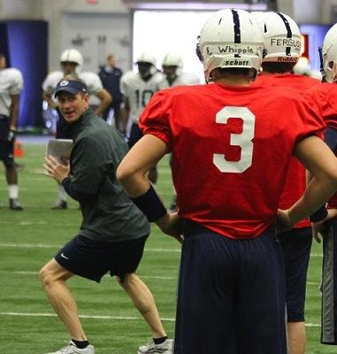 High Noon? Penn State Quarterback Coach Charlie Fisher On Picking a Starter