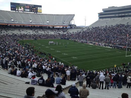 The Team That Really Controls the Field at Penn State's Beaver Stadium