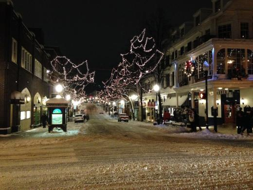 State College Encourages Downtown Holiday Shopping Despite Snow