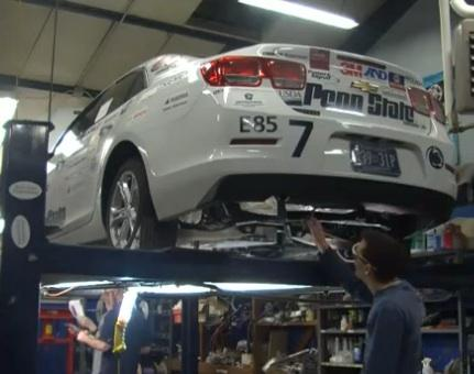 Students Designing Car that's High on Performance, Low on Emissions