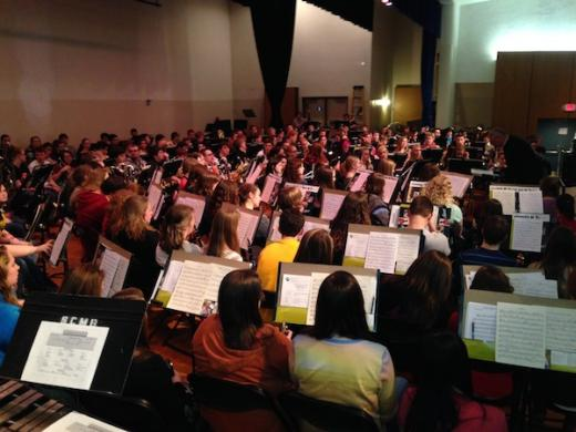 Young Musicians Get in Tune for Band Festival