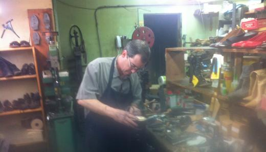 At The Heart of Shoe Repair Business is One Man's Dedication to His Craft
