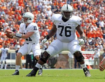 Penn State Football: Donovan Smith Anchoring Offensive Line In 2014