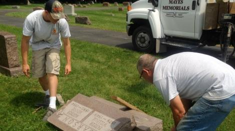 Signs of Cemetery Vandalism Quickly Erased, Police Processing Evidence