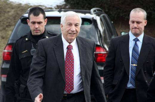 Hearing Officer Recommends Sandusky Receive Pension