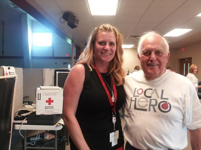 Patton Township Man Honored for Donor History as Red Cross Faces Shortage