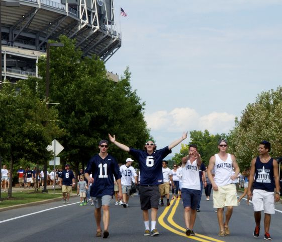 Penn State's Win Over Akron Met by Mixed Feelings from Fans