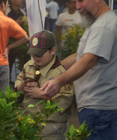 Kids Bug Out Over Great Insect Fair at the Bryce Jordan Center