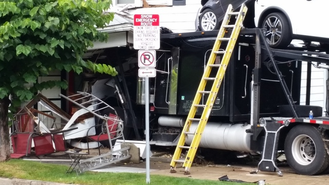 Truck Slams Into House Injuring Woman in Her Bed, Driver Expected to be Cited for Faulty Brakes
