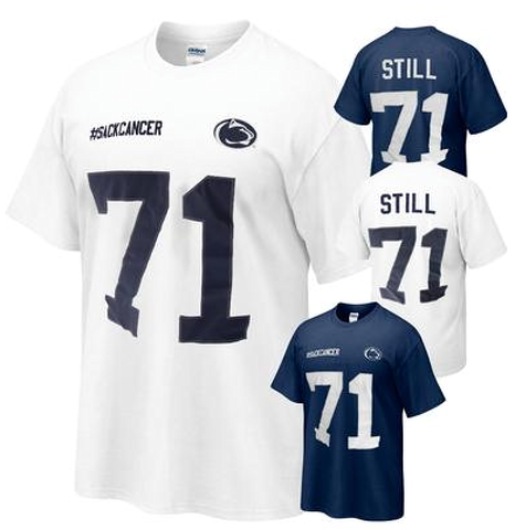 Penn State Football: New Shirt Lets Fans Support Devon Still And Daughter's Battle With Cancer
